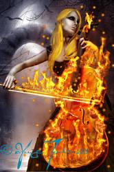 Cello Ablaze