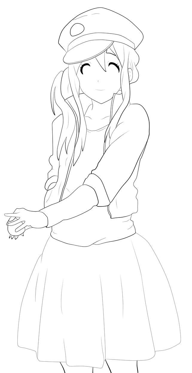 K ON Character Lineup Mugi By Raikoh067