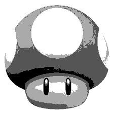Super mario mushroom by moonglaze on DeviantArt