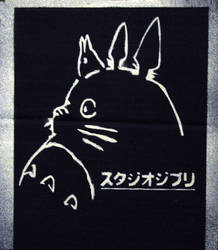 Studio Ghibli Tribute -Stencil by moon-glaze