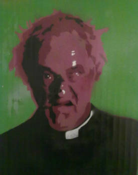 Father Jack Stencil