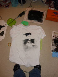 Screen printing - Attempt one