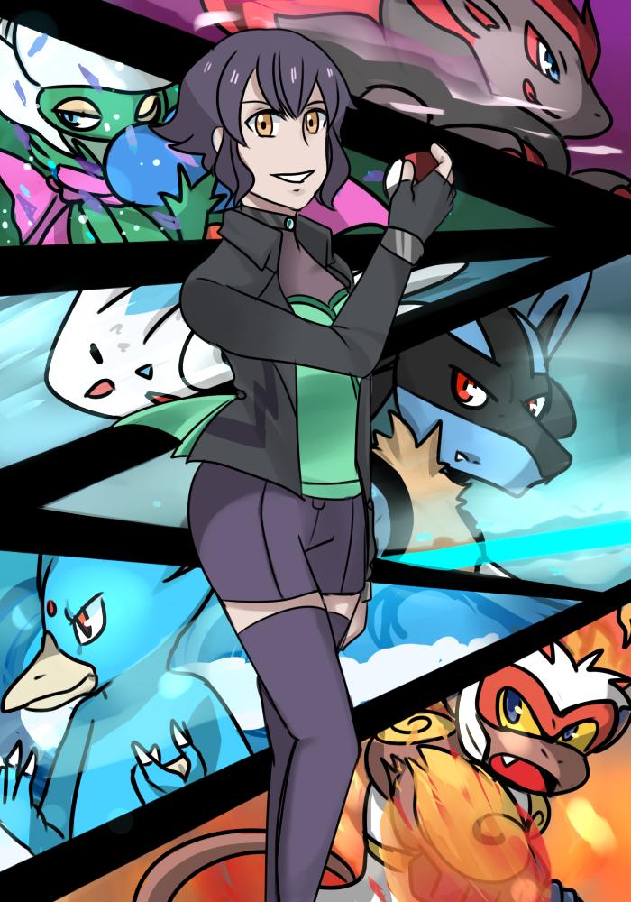 pokemon trainer occ by hijirai