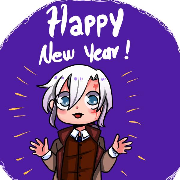 Happy New Year by hijirai