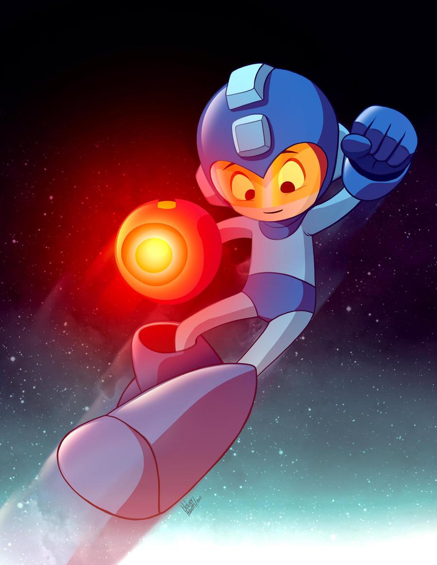 Megaman by HelverAsbeth