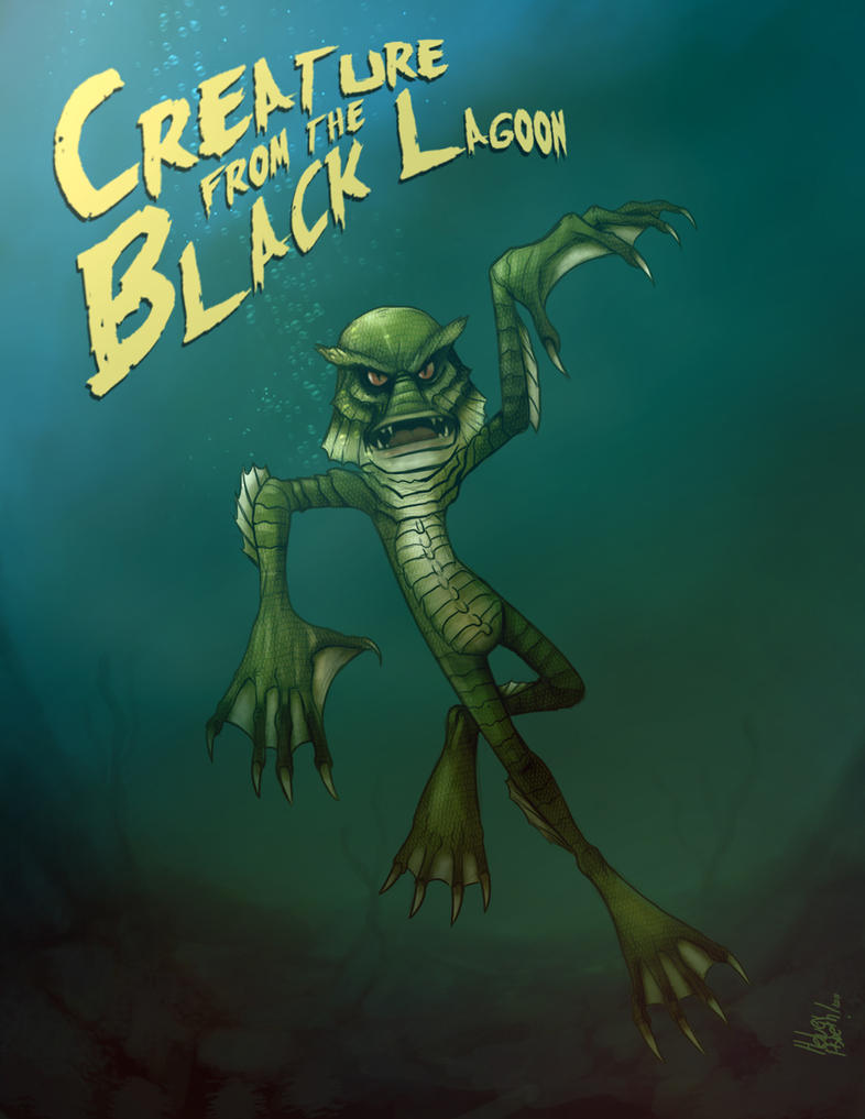 my creature from the black lagoon The creature of the black lagoon (aka the gill-man) is the main monster character of creature from the black lagoon, the 1954 science fiction horror film and its sequels.
