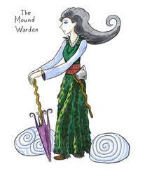 Irish sketches: The Mound Warden