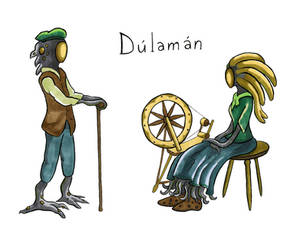 Irish sketches: Dulaman