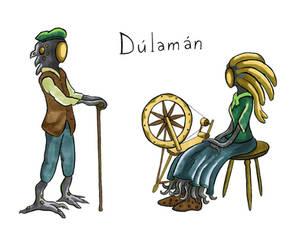 Irish sketches: Dulaman