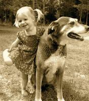 A girl's best friend.
