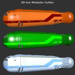 50ton ModularCutter 3Variants by riftroamer