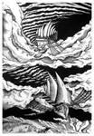 Voyage 2: Sky Fishing by BettinaMarson
