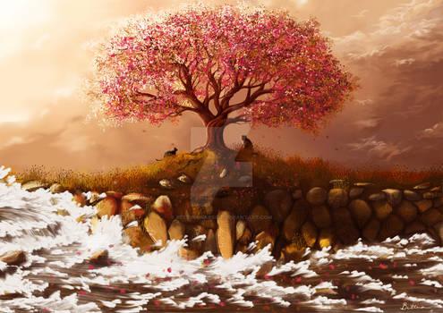Cherry Blossom Tree -- V.1