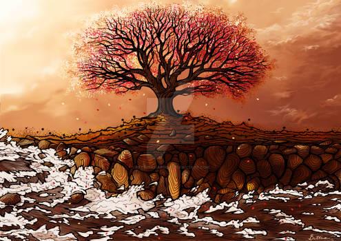 Cherry Blossom Tree -- V.2