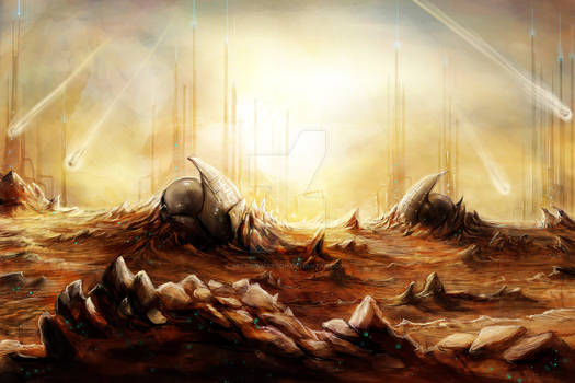 Commission: Dystopian Desert