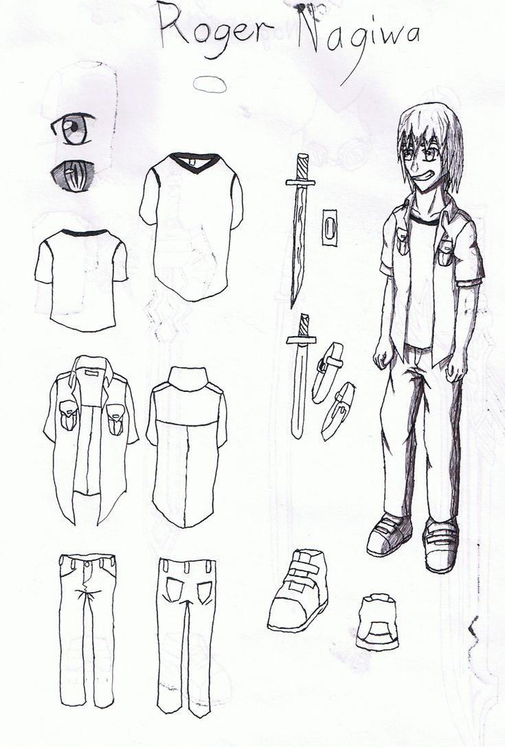 Roger Nagiwa Concept Art by ChaosReacon