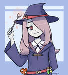 Sucy from Little Witch Academia by doeag