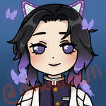 Shinobu from DEMON SLAYER by dowwaelli