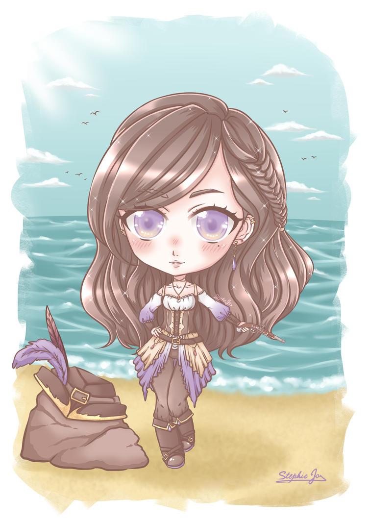 Pirate OC~! by Stephie-Jo