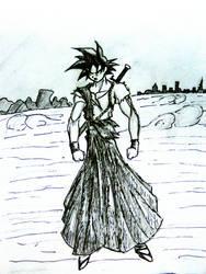 GOKU samurai style by Papan-01