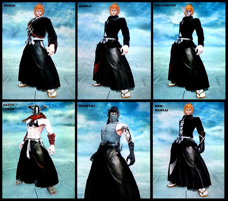 Ichigo forms Soul Calibur 5 by PlAbOnDRAGON