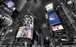 NHL New York Rangers Times Square Wallpaper