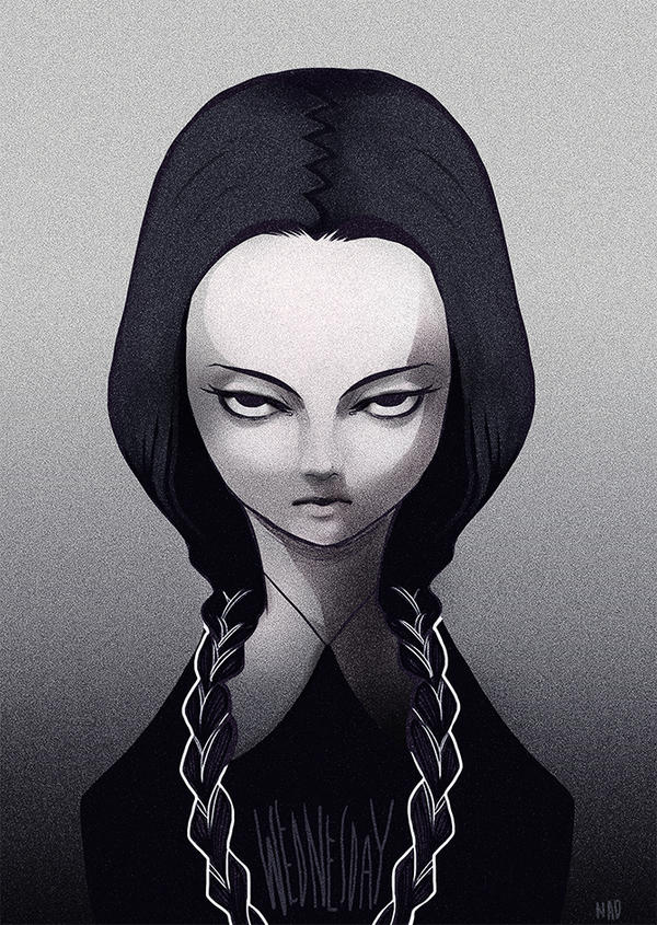 Wednesday Addams by thestarofpisces
