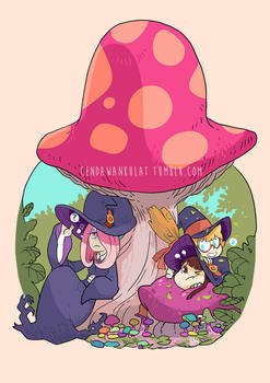 Little Witch Academia Fanart
