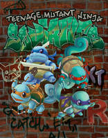 Teenage Mutant Ninja Squirtles by kGoggles