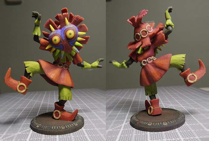 Majora's Mask Skull Kid by kGoggles