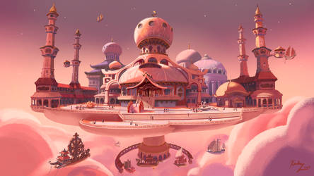 Moon Palace by kGoggles