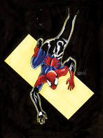 Spiderman again by fabioredivo