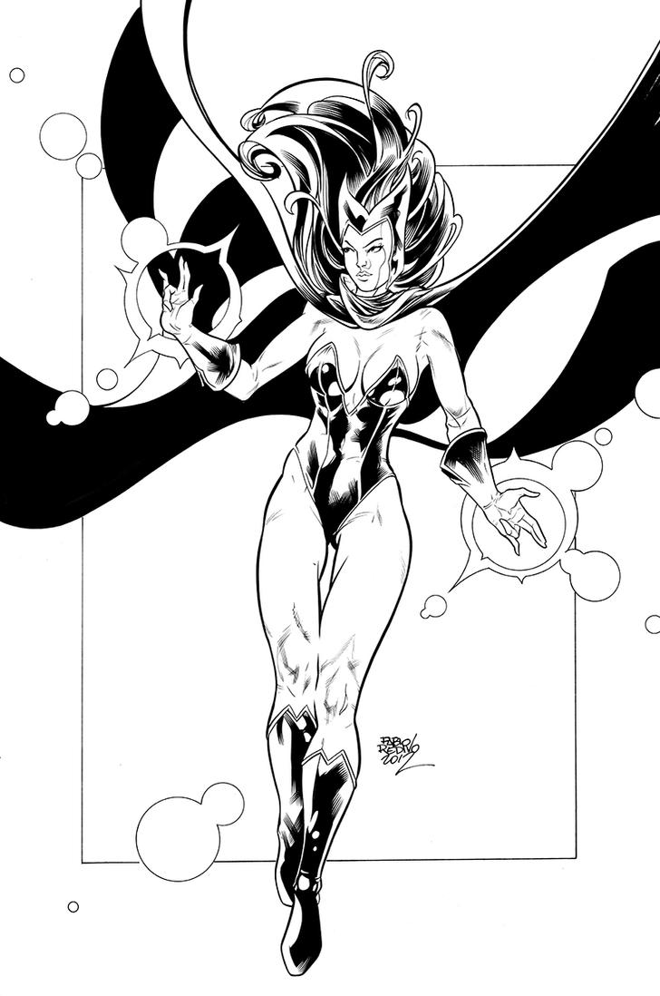 enchantress marvel coloring pages - photo#50