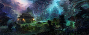Glowing Forest Concept