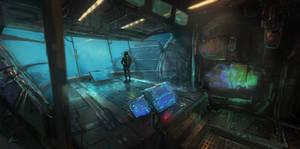 Sci Fi Sub interior