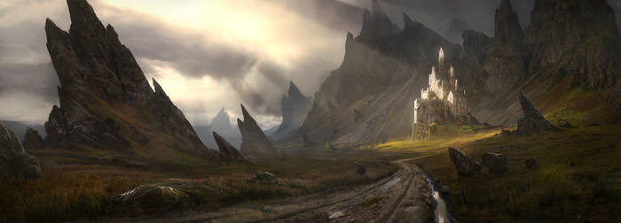 Isolated Castle