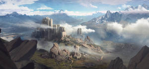 Mountain fortress