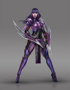 Female Assassin Concept