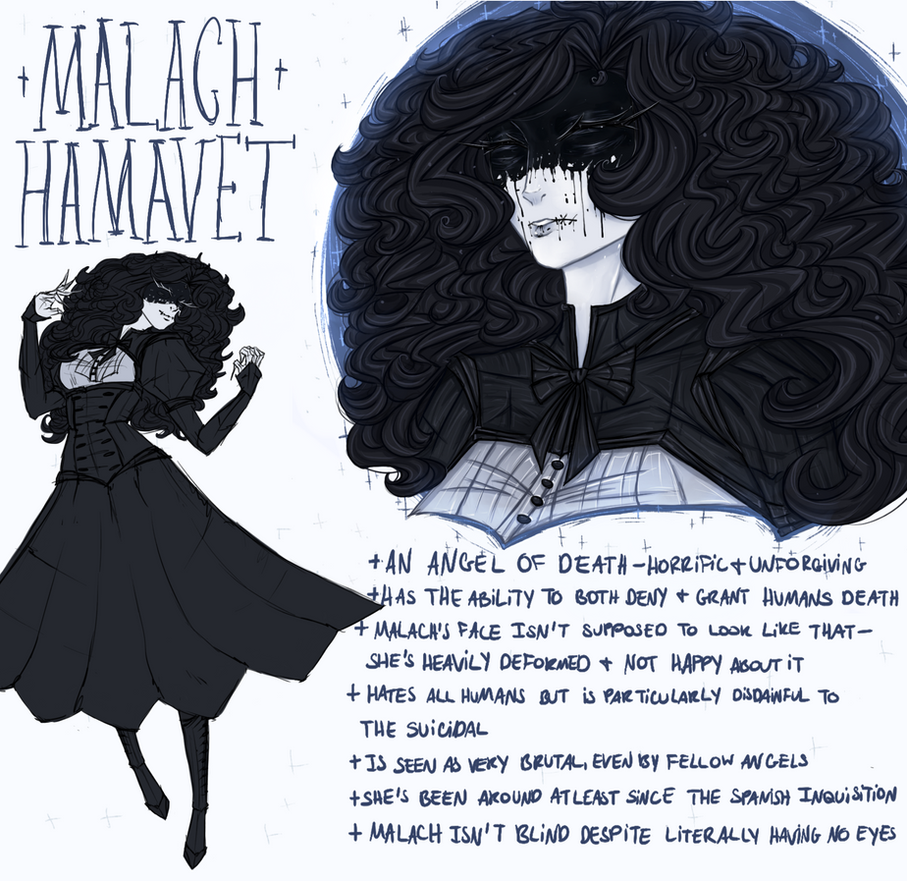 [ref sheet] Malach by OpheliaNevermore