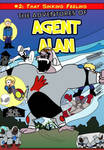 The Adventures of Agent Alan #2 Cover by Left-Cyan-Circle