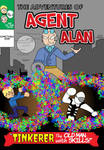 Agent Alan #3.5 Cover by Left-Cyan-Circle