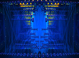 Blue and Wired by Stuckindoors