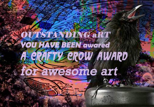 cRAFTY Crow by Caddman