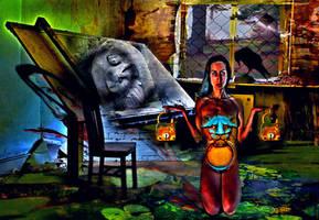 Dark Day Dream 13 by caddman