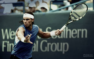 Rafael Nadal - Widescreen by jagkorps