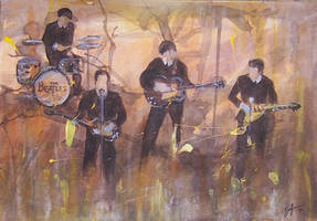 The Beatles by stefan1501