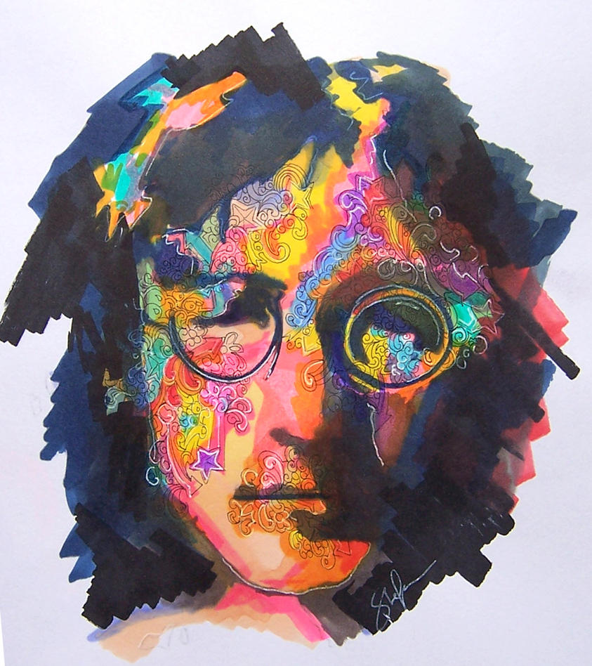 John Lennon by stefan1501