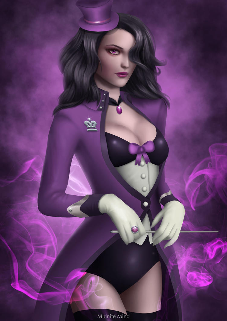Paige - The Purple Magician by midnitemind