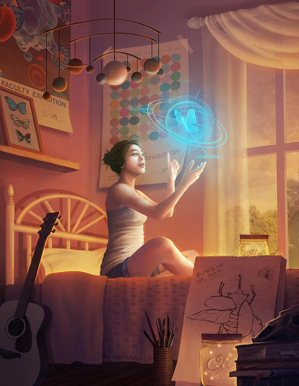 CIA Biomedical Poster by Huyen-n00b