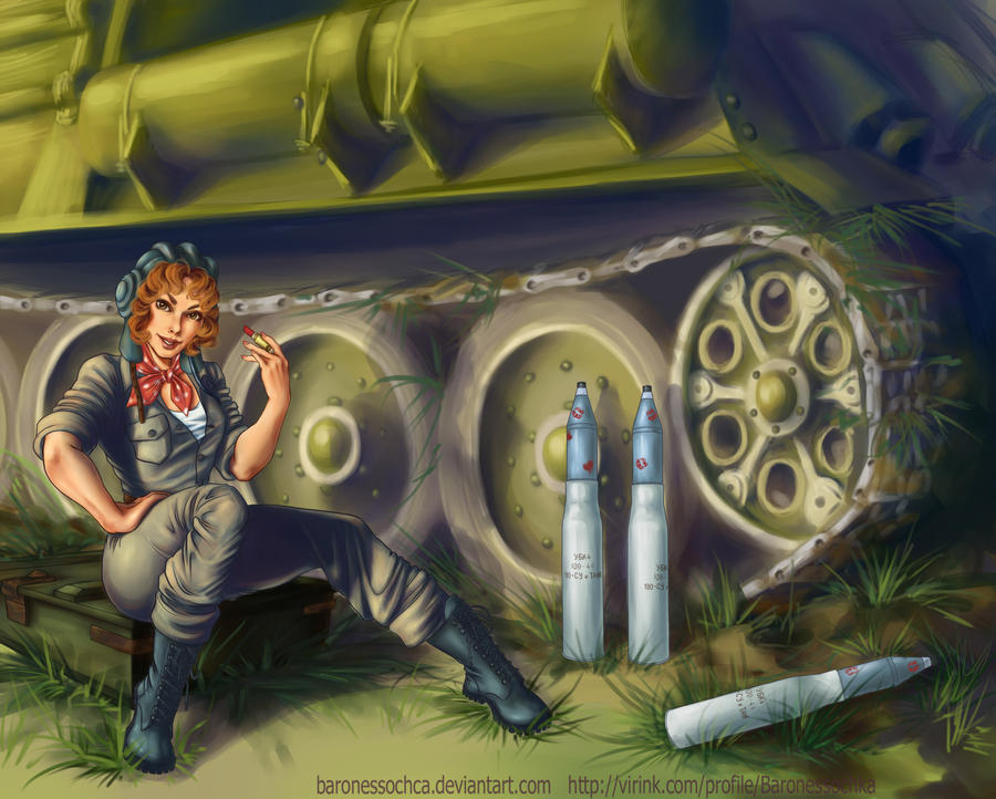 Tank Girl by baronessochca